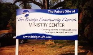 Demolition for The Bridge Community Church