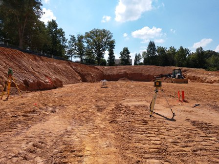 Site-work Progress at Church of the Apostles!