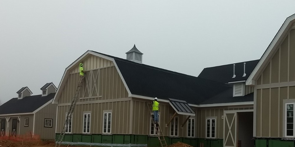 Exterior Painting at Middleburg Humane Foundation!