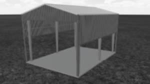 PEPCO Fuel Facility PEMB Metal Building Construction